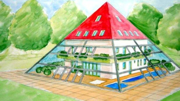 Pyramid House Plans Architecture