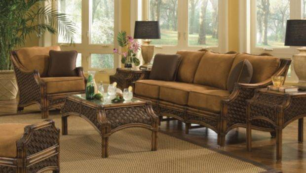 Rattan Dining Room Sets Bamboo Living Furniture