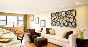 Recessed Lights Large Wall Hangings Living Room Small Space