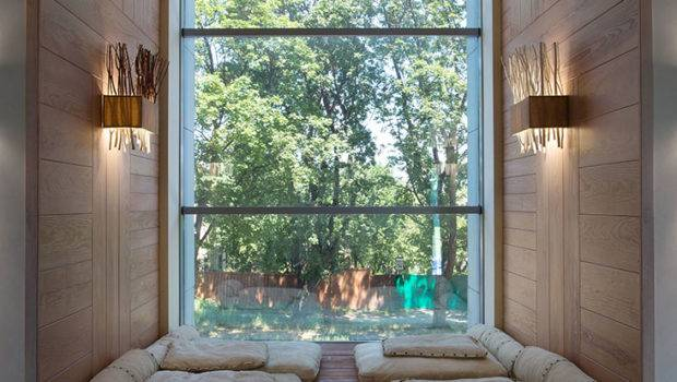 Recessed Reading Nook Window Mini Day Beds Interior
