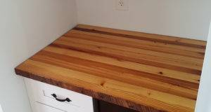 Reclaimed Pine Countertop Maryland Wood Countertops