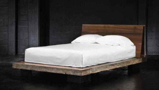 Reclaimed Wood Contemporary Platform Beds Zin Home Blog