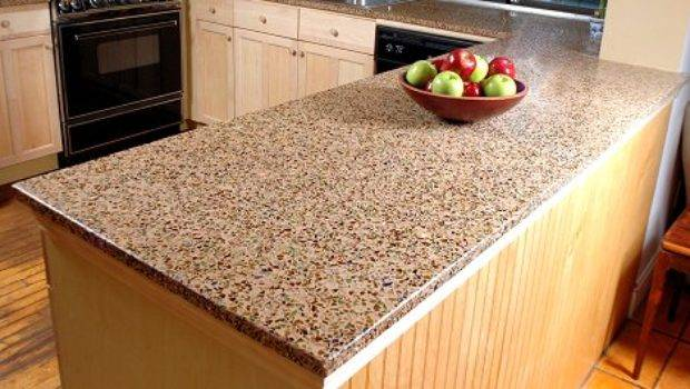 Recycled Glass Countertops Consider Choose
