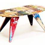 Recycled Interiors Deckstool Skateboard Furniture