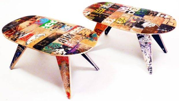 Recycled Skateboard Furniture Homewares Interiors