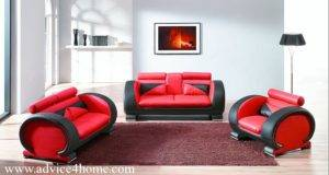 Red Balck Latest Sofa Design Home Advice Furniture