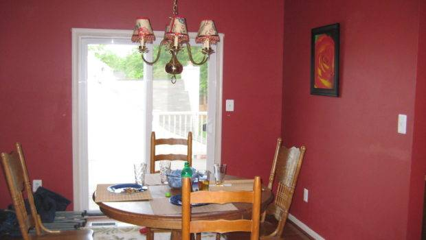 Red Dining Room Paint Ideas Braves Decor Rooms