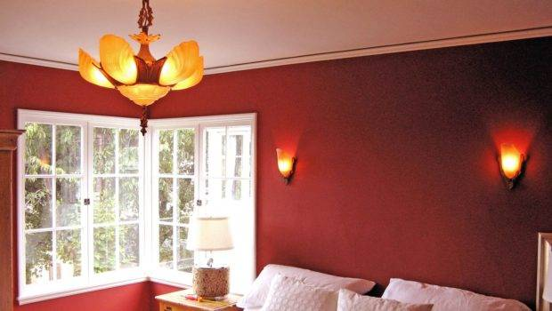 Red Painted Rooms Home Design Ideas