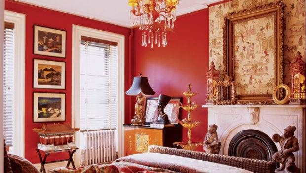 Red Painted Walls Your Home Pick Paint