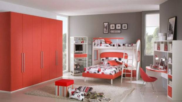 Red Passion Teen Room Color Scheme One Total