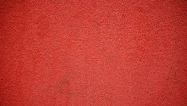 Red Wall Painted