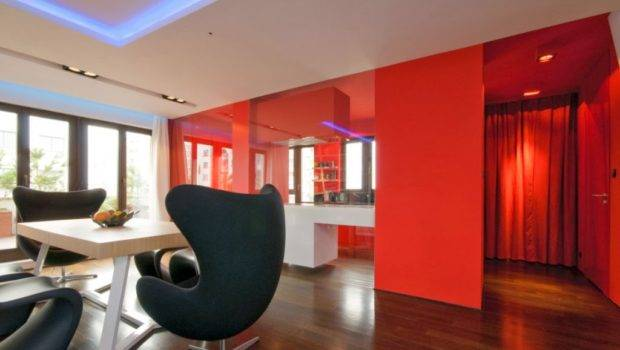 Red Wall Painting Ideas Beautiful Home Decoration