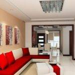 Red Wall Sofa House