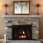 Reface Fireplace Stone Veneer Design Ideas
