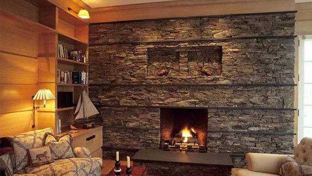 Related Post Natural Stone Fireplaces Design Ideas