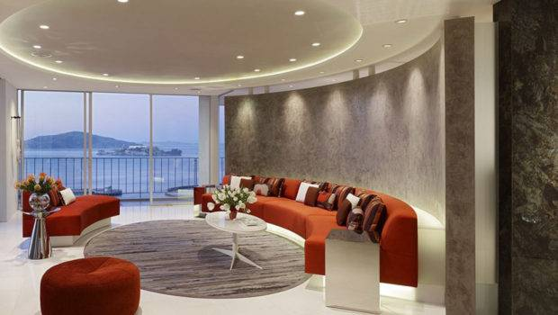 Relaxing Apartment Mark English Architects Large Living Room Design