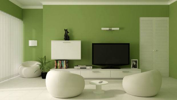 Relaxing Wall Colors Contemporary Living Room Designs