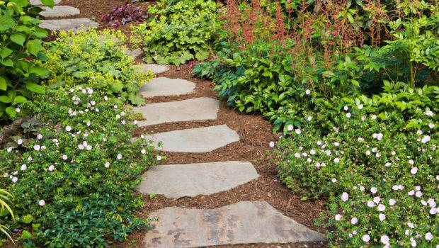 Remarkable Stone Garden Path Ideas Jpeg