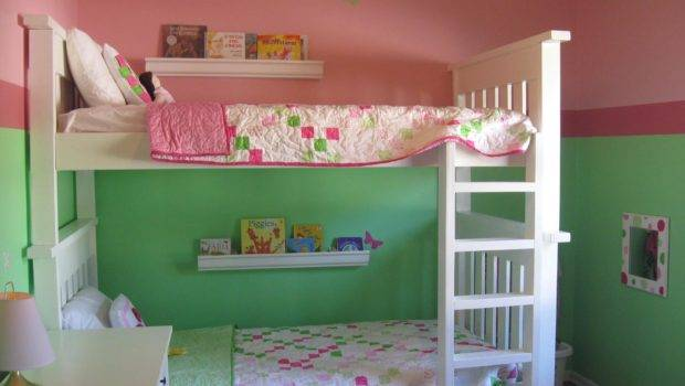 Remodelaholic Shared Little Girls Room Redo