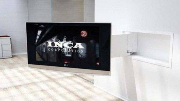 Remote Controlled Wall Mount System Your Flat Screen Design