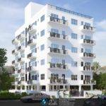 Rendering Exterior Modern Apartment Building Design Blog
