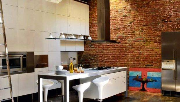 Renovated Loft Industrial Interior Design Digsdigs