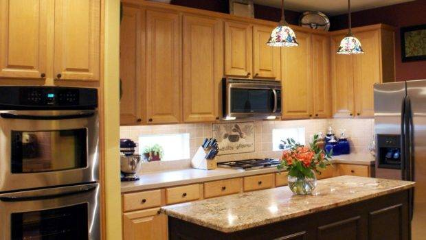 Replacement Kitchen Cabinets Central Island