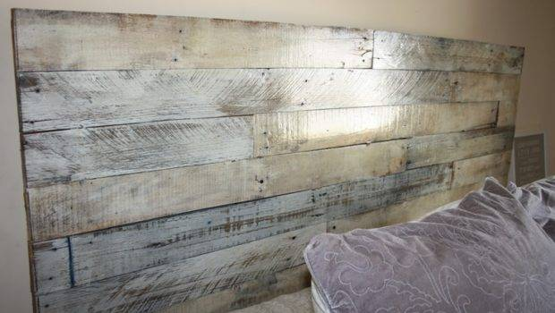 Repurposed Shabby Chic Bedhead Rustic Pallets