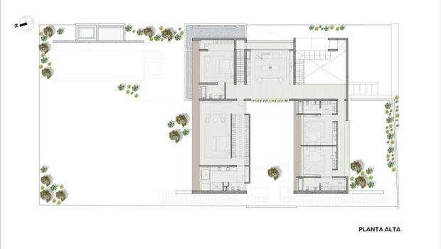 Residence Built Around Central Courtyard Peru Planicie House