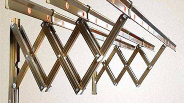 Retractable Aluminum Stainless Steel Cloth Hanger Drying