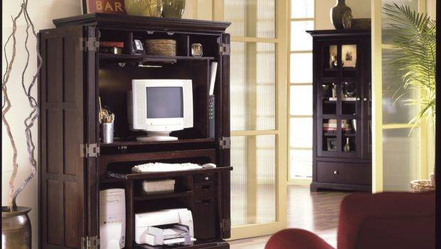 Riverside Home Office Computer Armoire Frazier Son