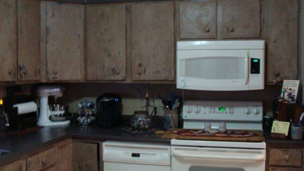 Roadtrip Treasures Finished Primitive Kitchen Cabinets