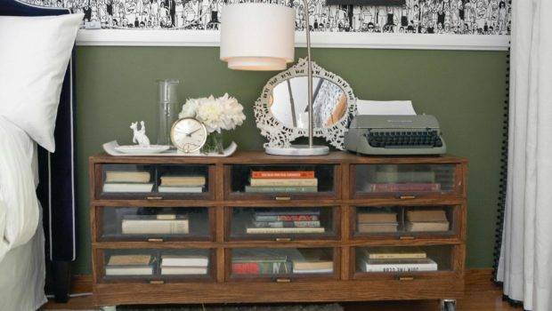 Rolling Bookshelf Doubles Nightstand Hgtv