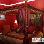 Romantic Red Tones Bedrooms Pains Bedroom Decorations