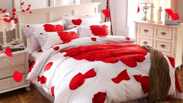 Romantic Valentines Bedroom Decorating Ideas