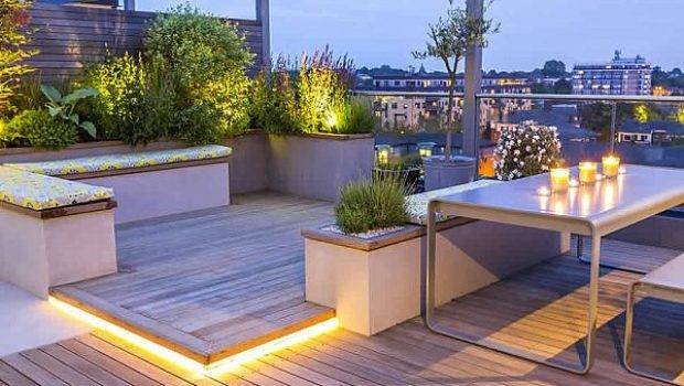 Roof Terraces Gardens Contemporary London Designers