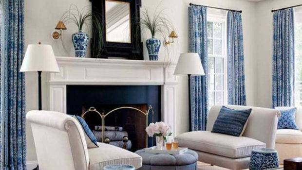 Room Blue White Colors Ideas Relaxing