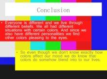 Room Colors Affect Your Mood Color Powerpoint