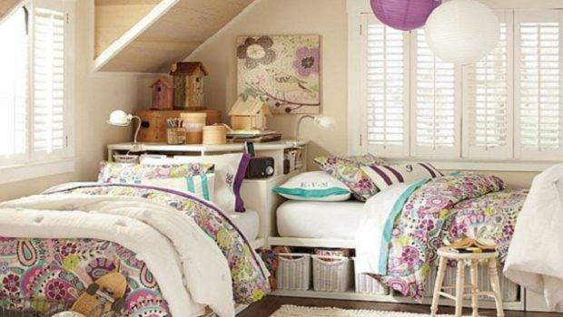 Room Decoration Ideas Teenage Girls Two Bedroom Awesome