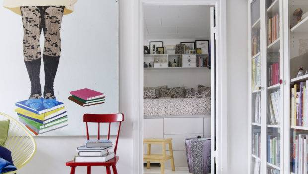 Room Designs Small Rooms White Wall Paint Red Chair Bedroom Ideas
