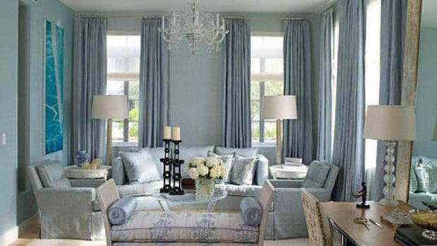 Room Elegant Baby Blues Living Paint Colors