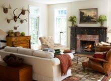 Room Fireplace Decorating Ideas Living Decorations