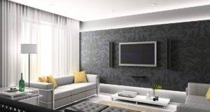 Room Home Design Ideas Black White Grey Colored Furniture
