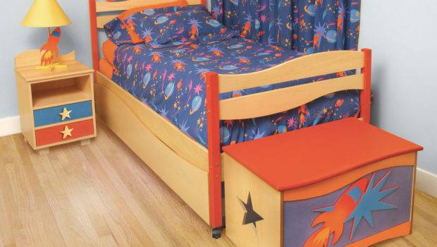Room Magic Star Rocket Kids Bed Twin Features