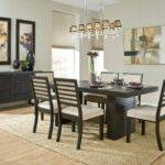 Room Sets Table Chairs Density Rug Modern Dining