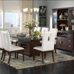 Room Tables Seats Brown Modern Dining Table