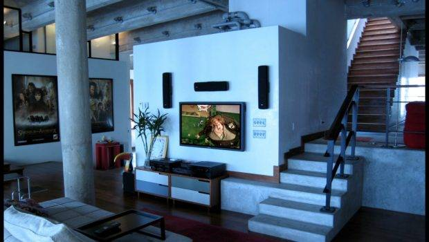 Room Theater Living Home Designs