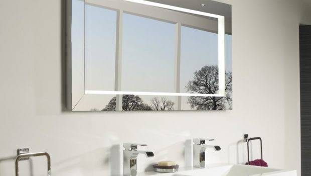 Roper Rhodes Affinity Designer Illuminated Bathroom Mirror