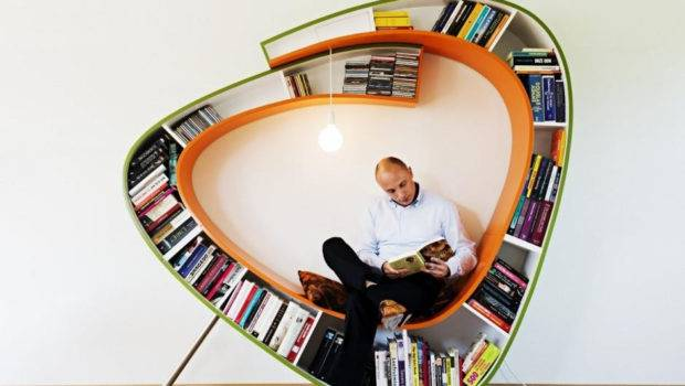 Round Bookcase Seat Cool Things Pinterest