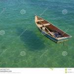 Row Boat Floating Water